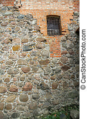 small window - The castle in the former capital of...