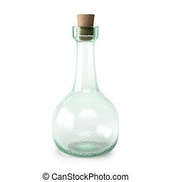 potion - empty bottle potion isolated on white background