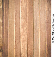 Brown wood plank texture for background - Close up brown...