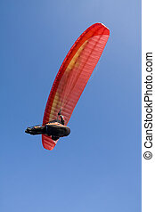 Extreme sports - paragliding