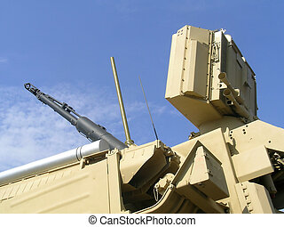 Military truck equipment - Equipment of land combat and...