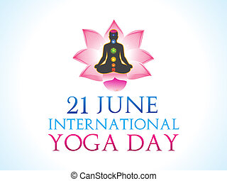 abstract yoga background - abstract yoga day background