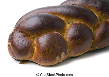 challah bread - A loaf of challah bread for shabbat