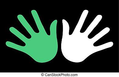 peace symbol - Creative design of peace symbol