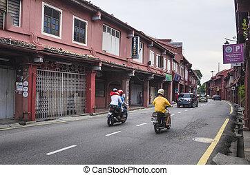 ville, ville,  2014, mondiale,  centre, mai,  11, inscrit,  héritage, malaisie,  site, été, ceci, malaisie, historique,  UNESCO,  malacca, a,  malacca,  11: