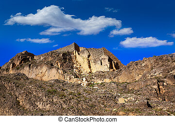 Canete Cuenca Spain old masonry fortress - Canete in Cuenca...