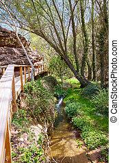Cuenca Villar del Humo village river Vencherque in Spain