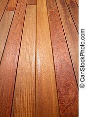 Ipe teak wood decking deck pattern tropical wood texture...