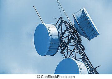 Cellular Antenna Closeup