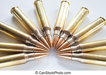 Steel core bullets in rifle cartridges - Semi circle of...