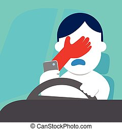 Risk of chat when driving