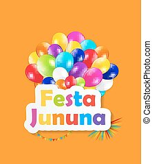 Festa Jinina Background Vector Illustration EPS10