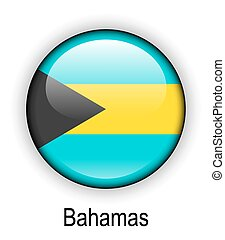 bahamas state flag - bahamas official state button ball flag...