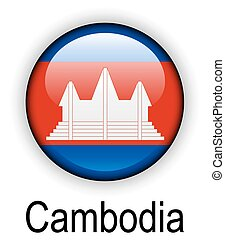 cambodia official state flag