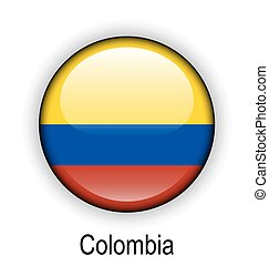 colombia ball flag