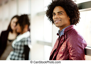 Handsome African American Male - An African American male...