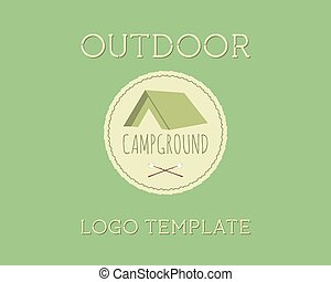 Adventure Outdoor Tourism Travel Logo Vintage Labels design...