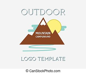 Mountain campsite campground outdoor adventure and...