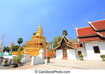 Wat Phra That Sri Chom Thong Temple