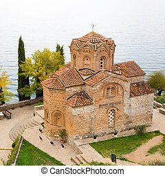 Sveti Jovan Kaneo Church - Sveti Jovan Kaneo Church on Lake...