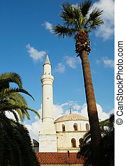 Kusadasi Mosque - Large traditionally styled turkish Mosque...