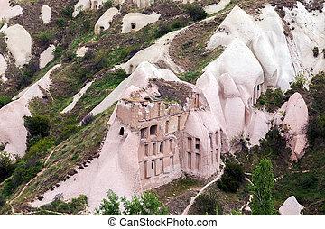 Mountain landscape, Cappadocia, Turkey - Rocks in Mountain...