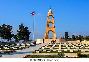 57th Infantry Regiment Memorial, Gallipoli - Turkish war...