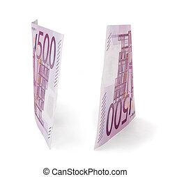 500, Euro, cuentas
