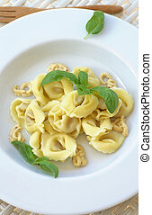 Meat Cappelletti - Delicious Meat Cappelletti with Mustard...