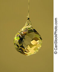 Feng Shui Crystal hanging from wire cord