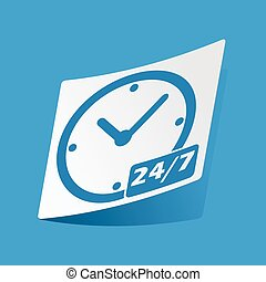Overnight daily sticker - Sticker with overnight daily icon,...