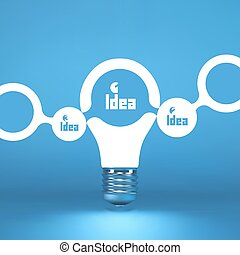 TEAM. Idea concept. 3d vector illustration. Can be used as...