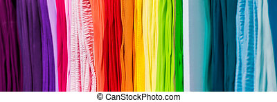 abstract multicolored iridescent laces photo - abstract...