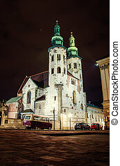 St Andrews Church - Belfry at St Andrews Church, Krakow...