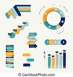 Infographics set elements