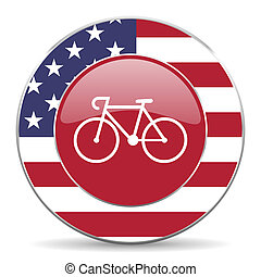 bicycle american icon  - american icon