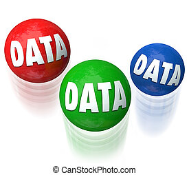 Data Juggling Information Technology Database 3 Balls - Data...