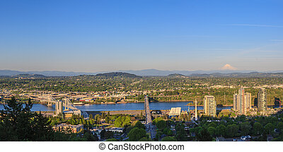 Portland Oregon Panorama