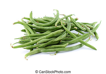 Green string beans - Healthy and organic green string beans...
