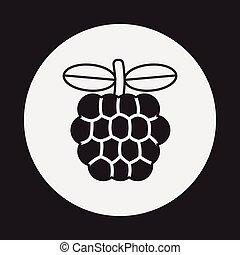 Custard apple icon