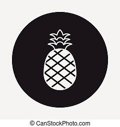 fruits pineapple icon
