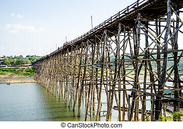 old wooden bridge Bridge - The old wooden bridge Bridge at...