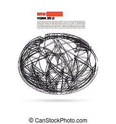 Vector Social Networks and Business Vector Illustration