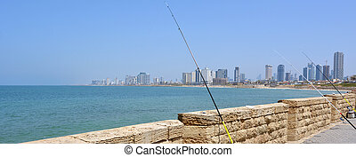 Tel Aviv Jaffa - Israel - Panoramic landscape view of Tel...