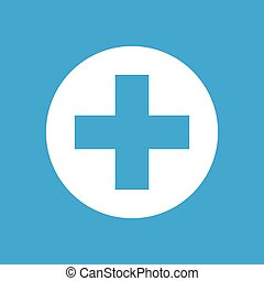 Medical sign icon 1