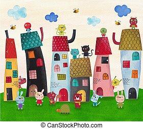 Fairy tale city