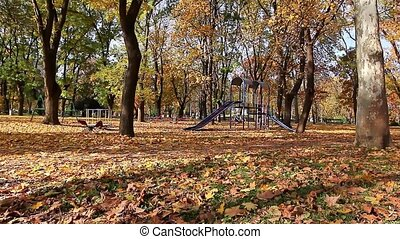 Autumn in the city park - Fall is arrived in our city park...