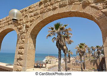 Jaffa beach in Tel Aviv Jaffa - Israel - Jaffa beach on the...