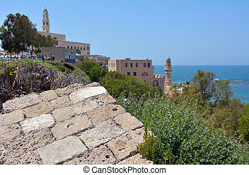 Tel Aviv Jaffa - Israel - Landscape of the old city of Jaffa...