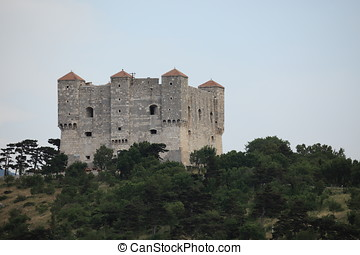 Fortress Nehaj near Senj in Croatia